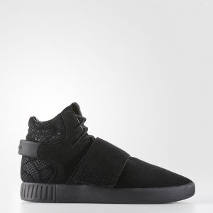 adidas Tubular Invader Strap Shoes - Black | adidas US