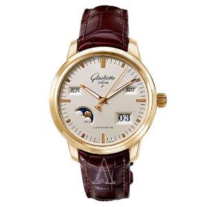 Glashutte Men's Senator Perpetual Calendar Watch Model: 100-02-11-01-04