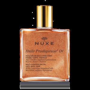 Shimmering Dry oil, Huile Prodigieuse® Or, Dry Oil Golden Shimmer 1.6 FL.Oz - NUXE