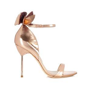 Maya embellished-bow leather sandals | Sophia Webster