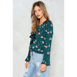 Pictures of Lily Floral Top | Shop Clothes at Nasty Gal!