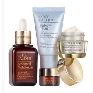 Estée Lauder Global Anti-Aging Repair Serum + Moisturizer = Beautiful Skin
