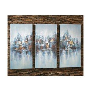 Saide Wall Art (Set of 3)   Ashley Furniture HomeStore