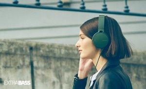 Sony索尼 MDRXB550AP/B 重低音头戴式立体声耳机