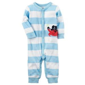 Baby Boy Cotton Snap-Up Footless Sleep & Play | Carters.com