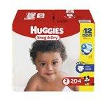 Huggies Snug & Dry 纸尿裤 1-6号 (128-252片)
