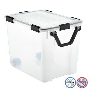 103 qt. Weathertight Tote with Wheels | The Container Store