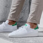 ADIDAS MEN'S ORIGINALS STAN SMITH PRIMEKNIT SHOES