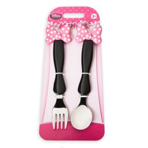 Minnie Mouse Bow Flatware Set