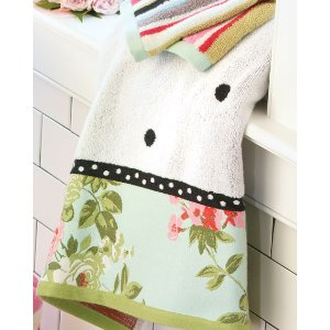 MacKenzie-Childs Chelsea Garden Bath Towel