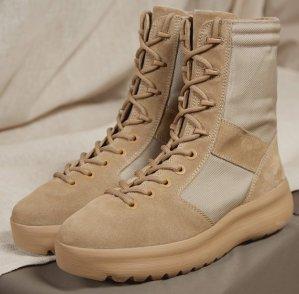 $445Yeezy Season 4 Combat Boots @ SSENSE