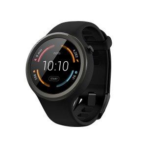 $109.99包邮Motorola Moto 360 智能手表 运动款