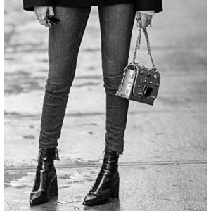 J BRAND - Maria High-Rise Distressed Skinny Jeans - saks.com