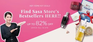 Up To 82% OffBesterseller @ Sasa.com