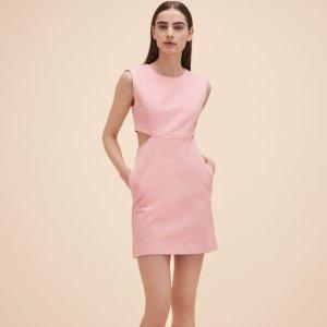 ROUSSIA Sleeveless denim dress - Dresses - Maje.com