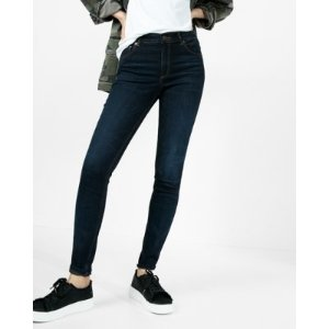 Eco-friendly High Waisted Stretch Jean Leggings | Express