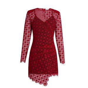 Strike guipure lace mini dress | Self-portrait | MATCHESFASHION.COM US