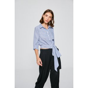 Crop Tie Shirt TP2077