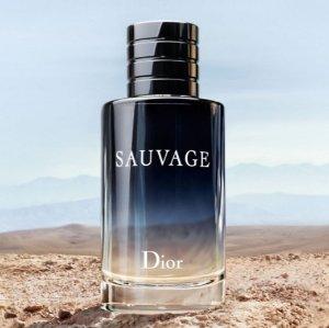 $62.9(原价$74)+多数州免税!女生也可以用哦!Bon-Ton精选Dior 旷野男士淡香水热卖
