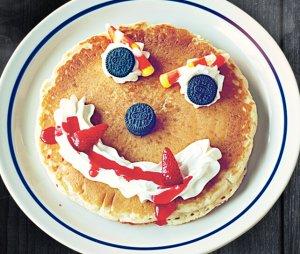 Free pancake for kids IHOP halloween sale on 10/31