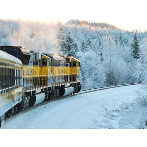 6 Day Tour to Anchorage, Anchorage City Tour, Aurora Train, Land across the Arctic Circle