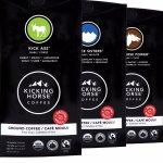 踏马Kicking Horse Coffee有机研磨咖啡 四种口味可选