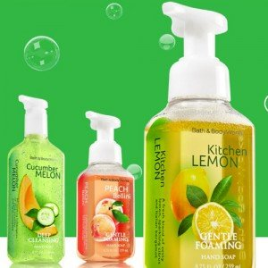 10 for $22.5Select Gentle Foaming, Deep Cleansing or Creamy Luxe Hand Soaps @ Bath & Body Works