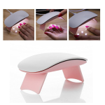 MAKARTT 6W LED UV Nail Dryer Curing Lamp 60S Timer USB Portable for Gel Nails Based Polishes