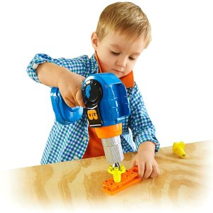 Bob the Builder 4-in-1 Power Drill | DGY44 | Fisher-Price