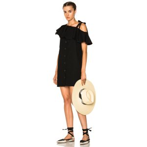 SHOP BY CATEGORY Sea Lone Shoulder Shift Dress