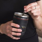 Replica Canon Camera Lens Coffee Mug