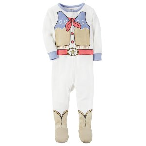 Baby Girl 1-Piece Cowgirl Snug Fit Cotton PJs | Carters.com
