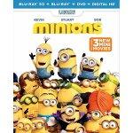 Minions (3D Blu-ray + Blu-ray + DVD + Digital HD)