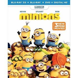 $9.99Minions (3D Blu-ray + Blu-ray + DVD + Digital HD)