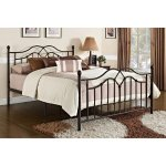 Tokyo Bronze Metal Bed, Multiple Sizes