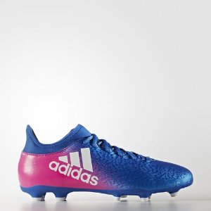adidas X 16.3 Firm Ground Cleats - Blue | adidas US
