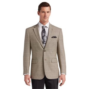 Traveler Collection Traditional Fit Check Sportcoat CLEARANCE - Sportcoats | Jos A Bank