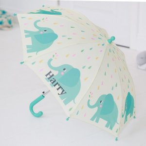 Children's Personalised Elephant Umbrella