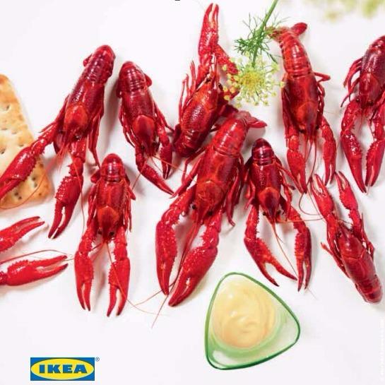 IKEA 万众期待的年度小龙虾节今年9月15日火热回归