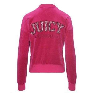 LOGO VELOUR JUICY PYTHON WESTWOOD JACKET - Juicy Couture