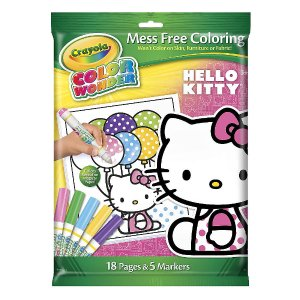 Crayola Color Wonder Mess Free Coloring Kit - Hello Kitty - Crayola - Toys