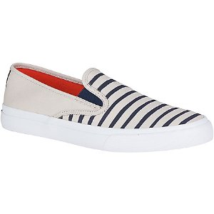 Jack Spade Cloud Nautical Color Block Canvas Sneaker