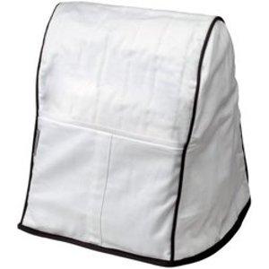 KitchenAid KMCC1WH Stand Mixer Dust Cover, White