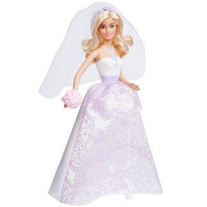 史低!$10.60Barbie 新娘芭比娃娃