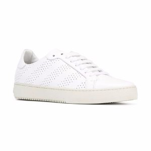 Off-White Perforated Sneakers - Farfetch