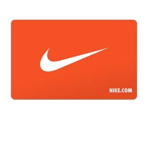 $10 BonusNike Gift Card $50Get $10 Bonus