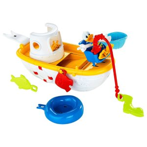 Disney Mickey Mouse Clubhouse - Quacky Fishin' Boat | CJD97 | Fisher Price