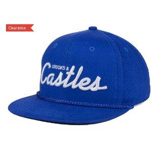 Crooks & Castles Team Castles Snapback Cap