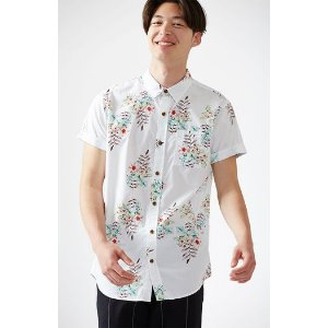 PacSun Lite Blossom Short Sleeve Button Up Shirt at PacSun.com