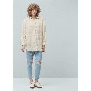 Striped cotton shirt -  Women | OUTLET USA